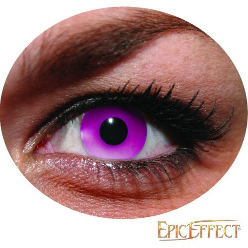 Lentilles - UV Flash Rose