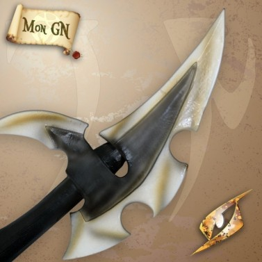 Hache de guerre d'Elfe sombre