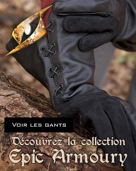 gants en cuir